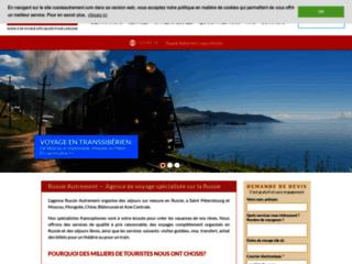 Détails : Russie Autrement : Agence de voyages à Saint-Petersbourg