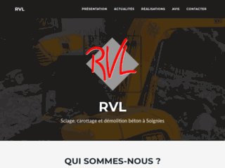 Rvl-sa.be : RVL, entreprise de carottage à Soignies