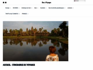 Détails : Des itinéraires de voyages