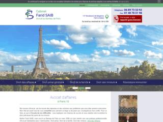 Avocat au barreau de Paris