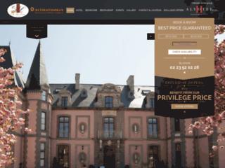 Détails : Le château hotelcolombier à Saint-Malo