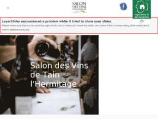 Détails : Salon des vins de Tain l'Hermitage 2013