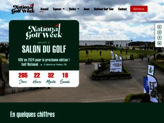 Détails : Site Officiel du Salon du Golf de Paris
