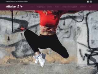 Détails : Nouveaux cours de danse à Berne