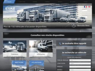 Etoile Pro Occasion, garage spécialisé en vente et réparation de poids lourds et utilitaires
