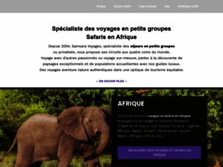 Samsara Voyages, aventures nature aux quatres coins du monde