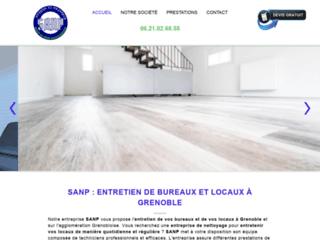 SANP : entreprise de nettoyage à Grenoble