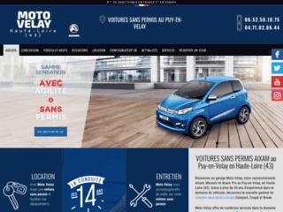 Moto Velay - Voitures sans permis au Puy-en-Velay (43)