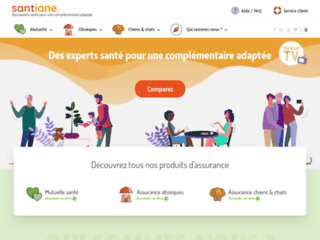 Santiane.fr, comparateur de mutuelles
