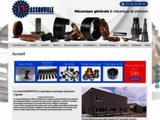 Détails : Dassonville, spécialiste dans le taillage d'engrenages et la rectification cylindrique