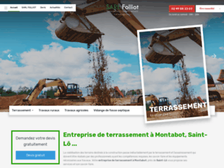 Entreprise de terrassement à Montabot, Saint-Lô