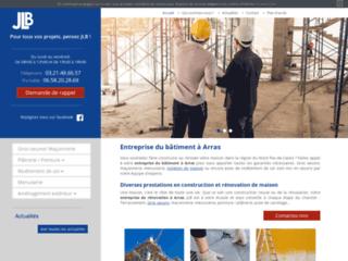 JLB, Entreprise du bâtiment à Arras