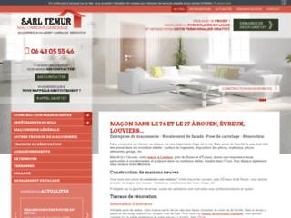 Société de maçonnerie générale à Rouen et environ