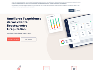 Satisfactory –  logiciel en ligne pour votre sondage en ligne
