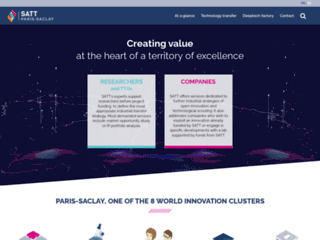 Détails : Satt Paris-Saclay: société de transfert technologique