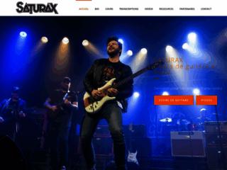 Détails : Saturax - Professeur de guitare à Paris