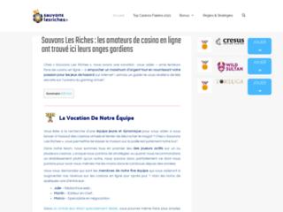 Sauvonslesriches.fr : Comparatif et avis des meilleurs Casinos en Ligne