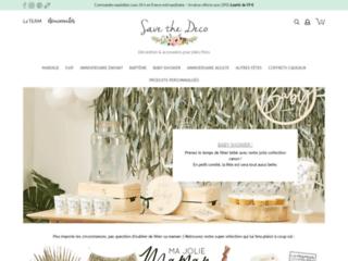 Services de décoration et accessoires de décoration avec Save the Déco