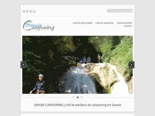 Détails : Canyoning savoie