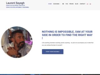 Laurent Sayegh, coach de vie