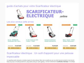 Détails : Scarificateur Online