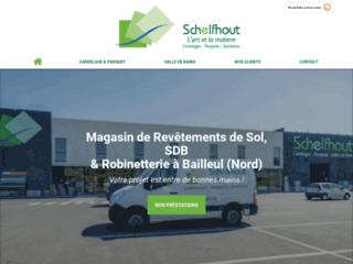 Schelfhout - magasin de revêtements de sol et sanitaires dans le Nord