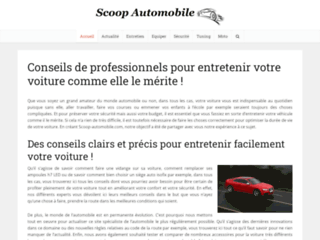 Détails : Scoop Automobile