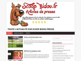 Scoop bidou pour promouvoir efficacement votre activité