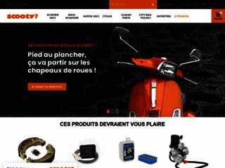 Pièces détachées de scooter en ligne : Scooty