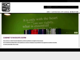Détails : Avocat luxembourg, avocat international : SCRM Avocats