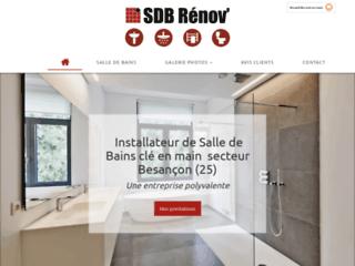 Rénovation de salle de bains par SDB RENOV' à Pugey