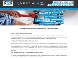 Plombiers à Nice et dans les Alpes Maritimes