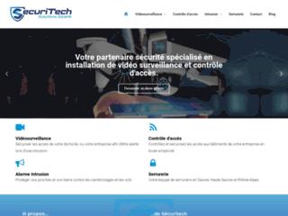 SecuriTech France, spécialiste en solutions de sûreté pour la maison et l'entreprise