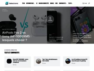 Détails : Selectronic : Actualité, guides et comparatifs high-tech
