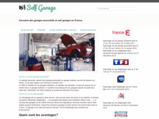 Détails : Self Garage, garage pour apprentis bricoleurs