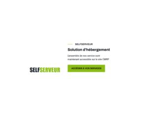 Détails : Selfserveur, hébergement professionnel sur des serveurs dédiés