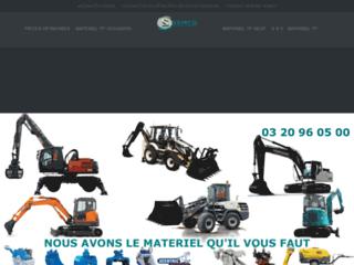 Vente de matériel BTP neuf et d'occasion dans le Nord et en Picardie