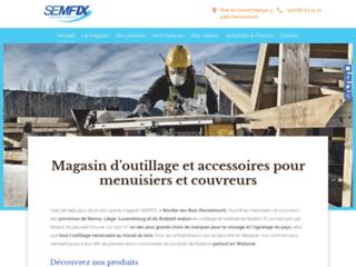 Détails : Fournisseur pour menuisiers et couvreurs en Wallonie| SEMFIX