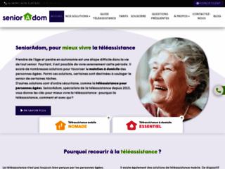 Détails : Téléassistance intelligente : Senioradom.com