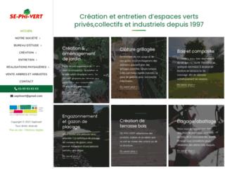 Entreprise de création et d'entretien des espaces verts