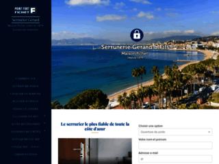 Serrurier à Cannes et dans les Alpes-Maritimes