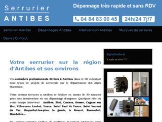 Site officiel de serrurier à Antibes
