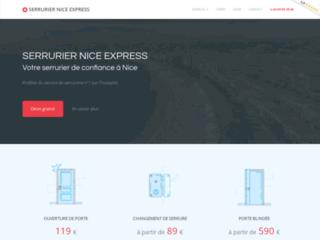 Détails : Serrurier Nice Express : la serrurerie intègre de nice