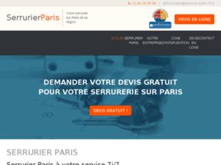 Serrurier Paris : remplacement de serrure