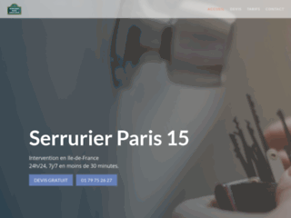 Serrurier Paris IDF 24/7 | 30 min Chez vous sur tarif annoncé