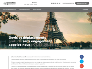 Serrurier Paris Services