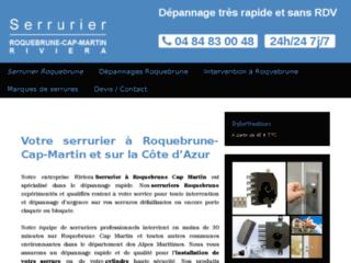 Votre serrurier à Roquebrune-Cap-Martin
