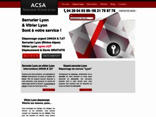 Détails : Dépannage serrure en urgence : ACSA Serrurerie à Lyon
