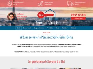 Serrurerie : Serrurier à la clef à Pantin 93
