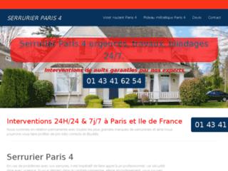 Détails : Serrurier Paris 4